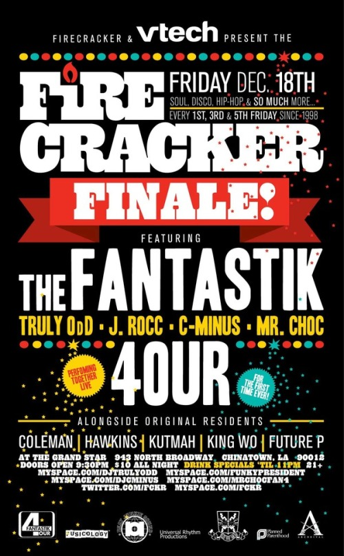 Fantastik 4our Firecracker Finale